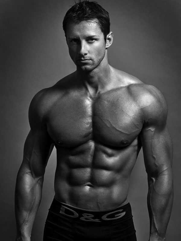 мускулистое мужское тело - 13