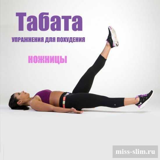 Табата упражнения для похудения картинки