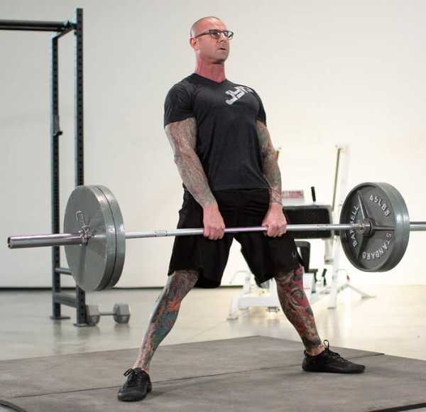 Становая тяга сумо техника выполнения какие мышцы работают сумо или классика что лучше